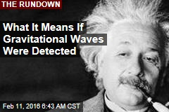 What It Means If Gravitational Waves Were Detected