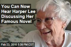 You Can Now Hear Harper Lee Discussing Her Famous Novel
