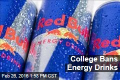College Bans Energy Drinks