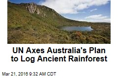 UN Axes Australia's Plan to Log Ancient Rainforest