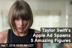 Taylor Swift's Apple Ad Spawns 5 Amazing Figures
