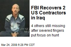FBI Recovers 2 US Contractors in Iraq