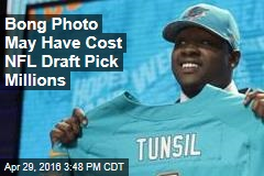 Bong Photo May Have Cost NFL Draft Pick Millions