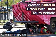 Woman Killed in Crash With Duck Tours Vehicle