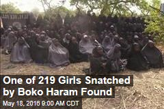 One of 219 Missing Girls Snatched By Boko Haram Found