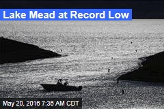 Lake Mead at Record Low