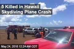 5 Killed in Hawaii Skydiving Plane Crash
