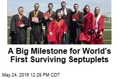 A Big Milestone for World's First Surviving Septuplets