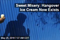 Sweet Misery: Hangover Ice Cream Now Exists