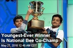 Youngest-Ever Winner Is National Bee Co-Champ