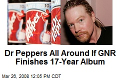 Dr Peppers All Around If GNR Finishes 17-Year Album
