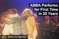 ABBA Performs for First Time in 30 Years