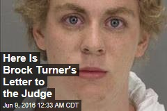 Here Is Brock Turner's Letter to the Judge