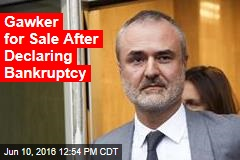 Gawker for Sale After Declaring Bankruptcy