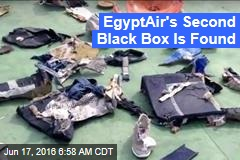 EgyptAir's Second Black Box Is Found
