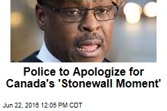 Police to Apologize for Canada's 'Stonewall Moment'