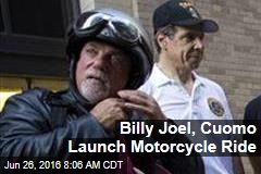 Billy Joel, Cuomo Launch Motorcycle Ride