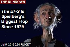 The BFG Is Spielberg's Biggest Flop Since 1979