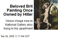 Beloved Brit Painting Once Owned by Hitler