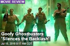 Goofy Ghostbusters 'Silences the Backlash'