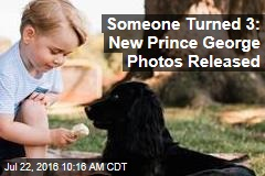 Someone Turned 3: New Prince George Photos Released