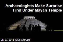 Archaeologists Make Surprise Find Under Mayan Temple