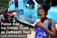 Police Add Ice Cream Truck as Outreach Tool