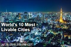 World's 10 Most Livable Cities