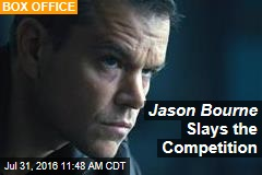 Jason Bourne Slays the Competition