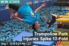 Trampoline Park Injuries Spike 12-Fold