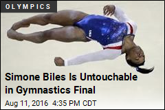 Simone Biles Wins Gymnastics Gold for US