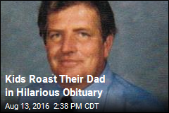 Kids Roast Their Dad in Hilarious Obituary