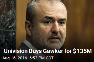 Univision Buys Gawker for $135M