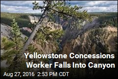 Worker Dies After Falling Into Yellowstone Canyon