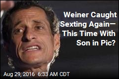 Weiner Caught Sexting Yet Again: Report