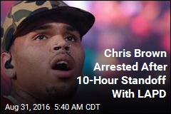 Chris Brown Arrested After 10-Hour Standoff With LAPD