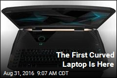 The First Curved Laptop Is Here