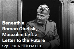 Beneath a Roman Obelisk, Mussolini Left a Letter to the Future
