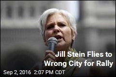 Jill Stein Flies to Wrong City for Rally