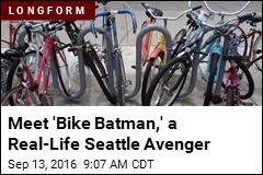 Meet 'Bike Batman,' a Real-Life Seattle Avenger
