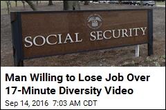 Man Willing to Lose Job Over 17-Minute Diversity Video