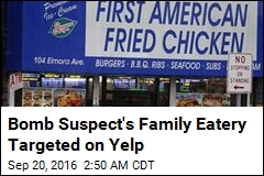 Yelp Reviewers Target Bomb Suspect's Family