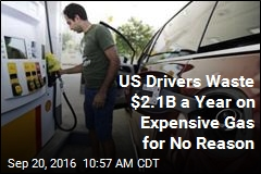 US Drivers Waste $2.1B a Year on Expensive Gas for No Reason