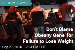 Don't Blame 'Obesity Gene' for Failure to Lose Weight