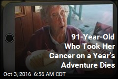 91-Year-Old Who Took Her Cancer on a Year's Adventure Dies