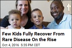 Only 3% Fully Recover From Kid Disease on the Rise