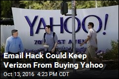 Email Hack Could Keep Verizon From Buying Yahoo