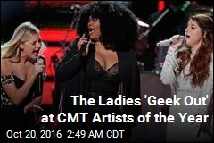 Female Singers Rock CMT Artists of the Year