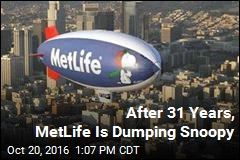 After 31 Years, MetLife Is Dumping Snoopy
