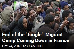 End of the 'Jungle': Migrant Camp Coming Down in France